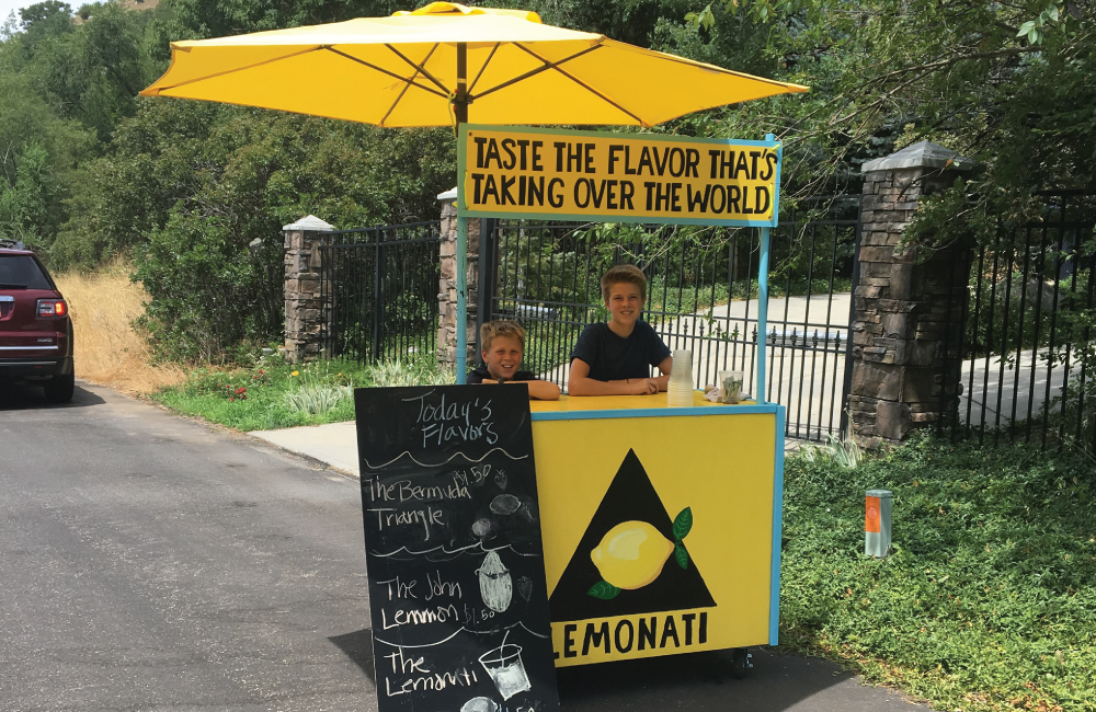 Ahlstrom Family Startup Story # 2: World's Best Lemonade